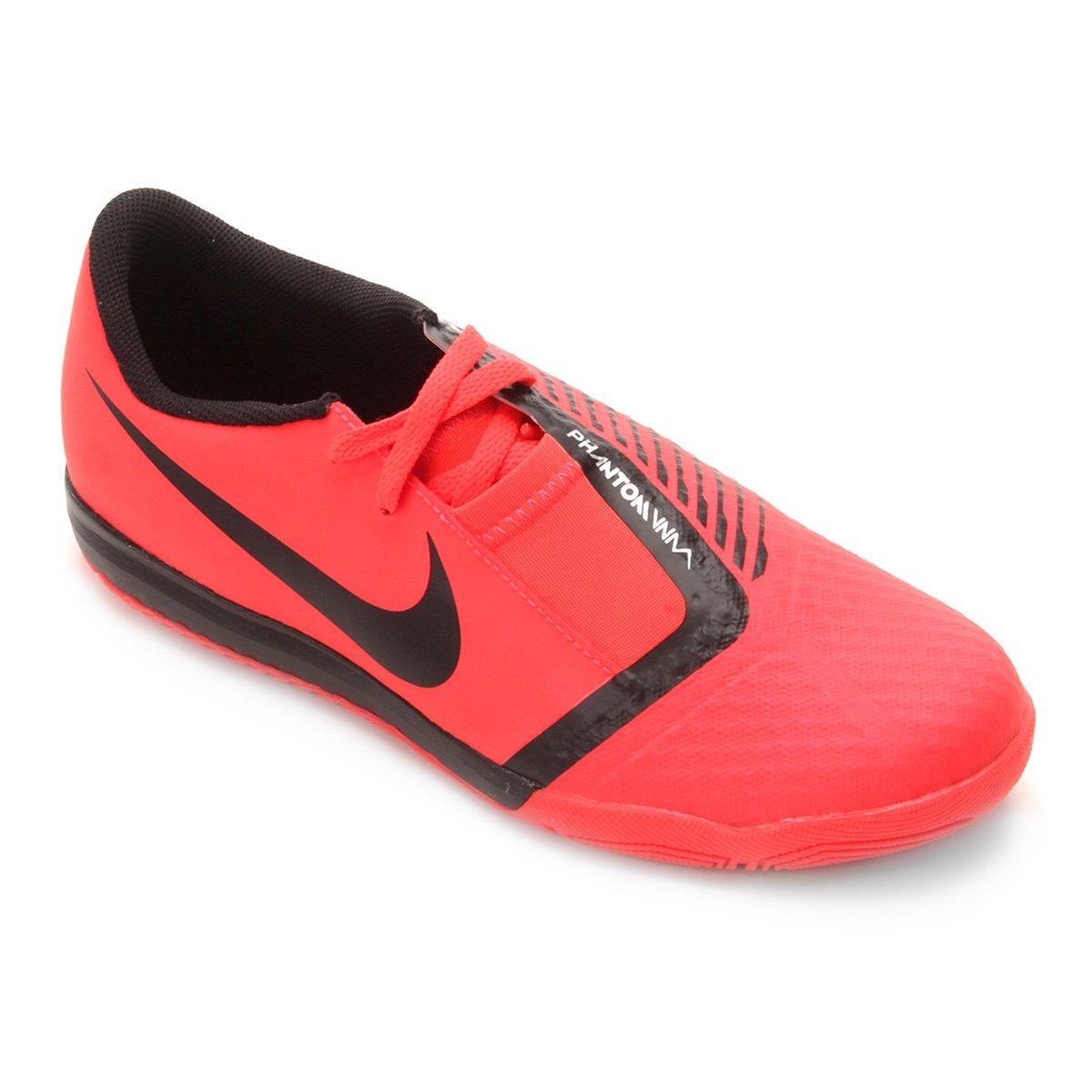 ba46e25080 Chuteira Futsal Infantil Nike Phantom Venom Academy IC - Vermelho e ...