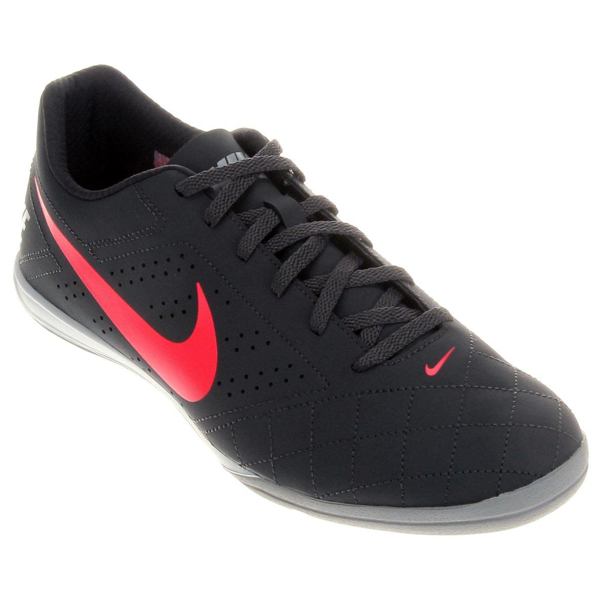 d5224f803af51 Chuteira Futsal Nike Beco 2 Futsal - Chumbo e Rosa | Shop Timão