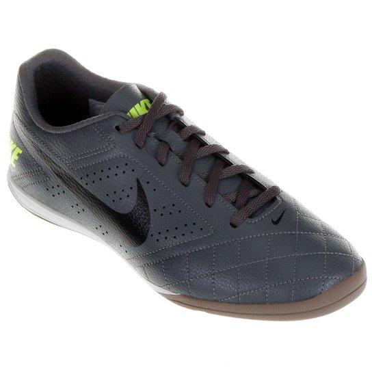 Chuteira Futsal Nike Beco 2 Futsal - Chumbo