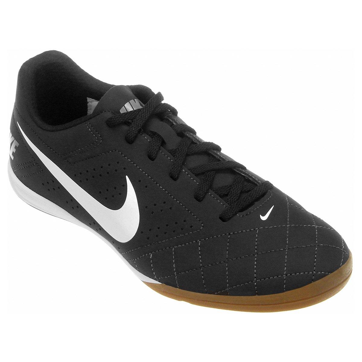d8bff495af Chuteira Futsal Nike Beco 2 Futsal - Preto e Branco - Compre Agora ...