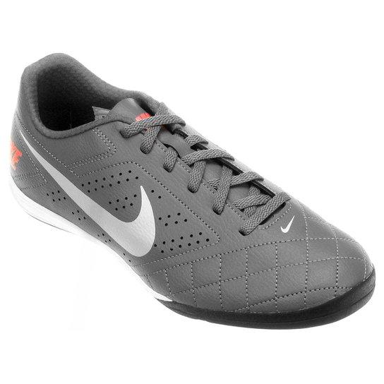 Chuteira Futsal Nike Beco 2 Futsal - Cinza+Branco