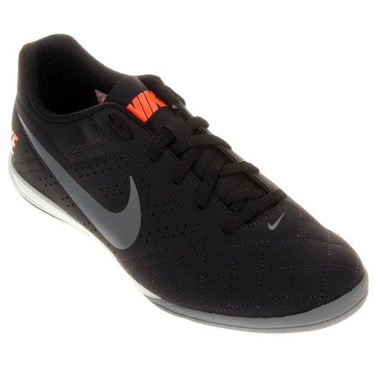 Chuteira Futsal Nike Beco 2 Futsal - Preto+Cinza