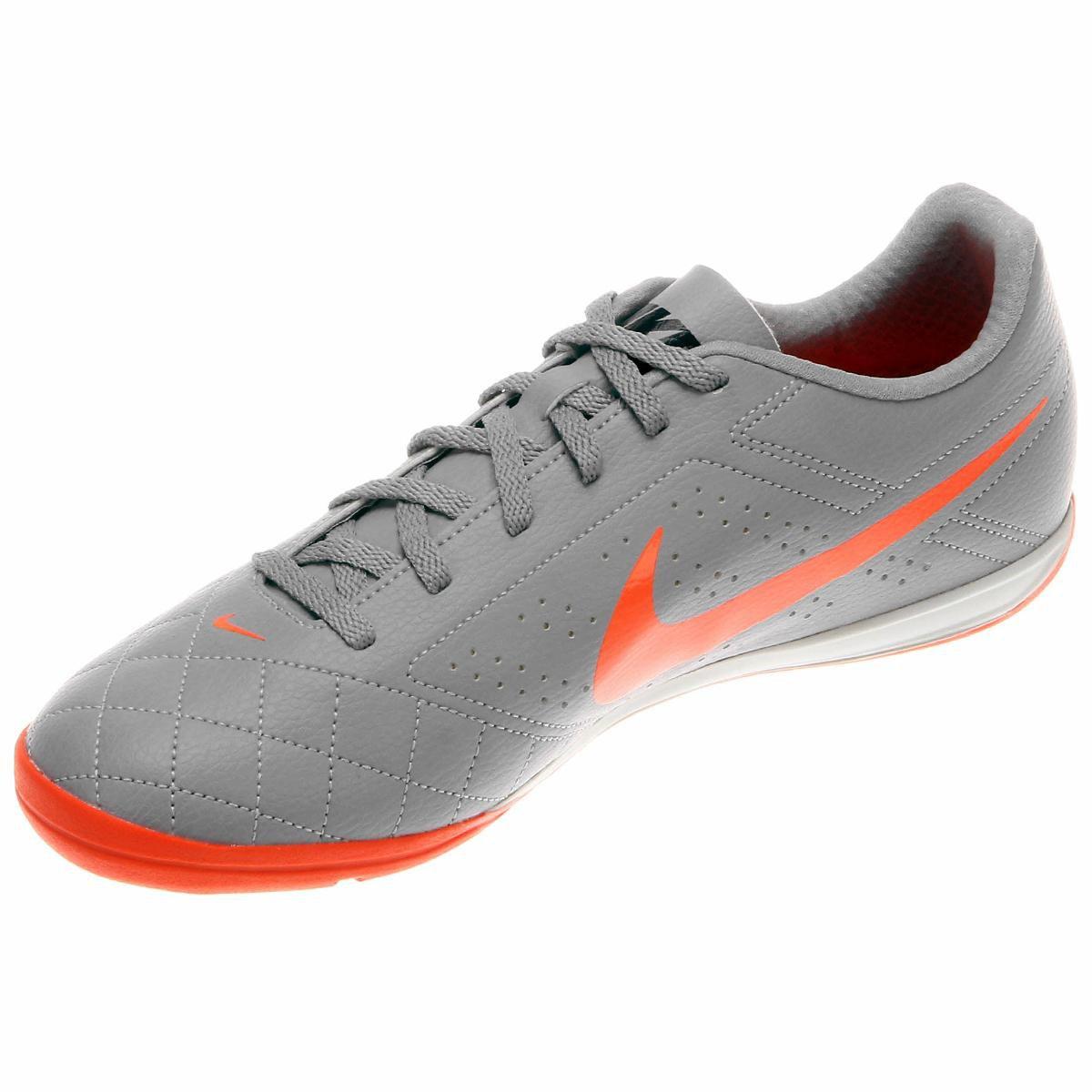2ff9d77c11 Chuteira Futsal Nike Beco 2 Futsal - Cinza e Laranja - Compre Agora ...