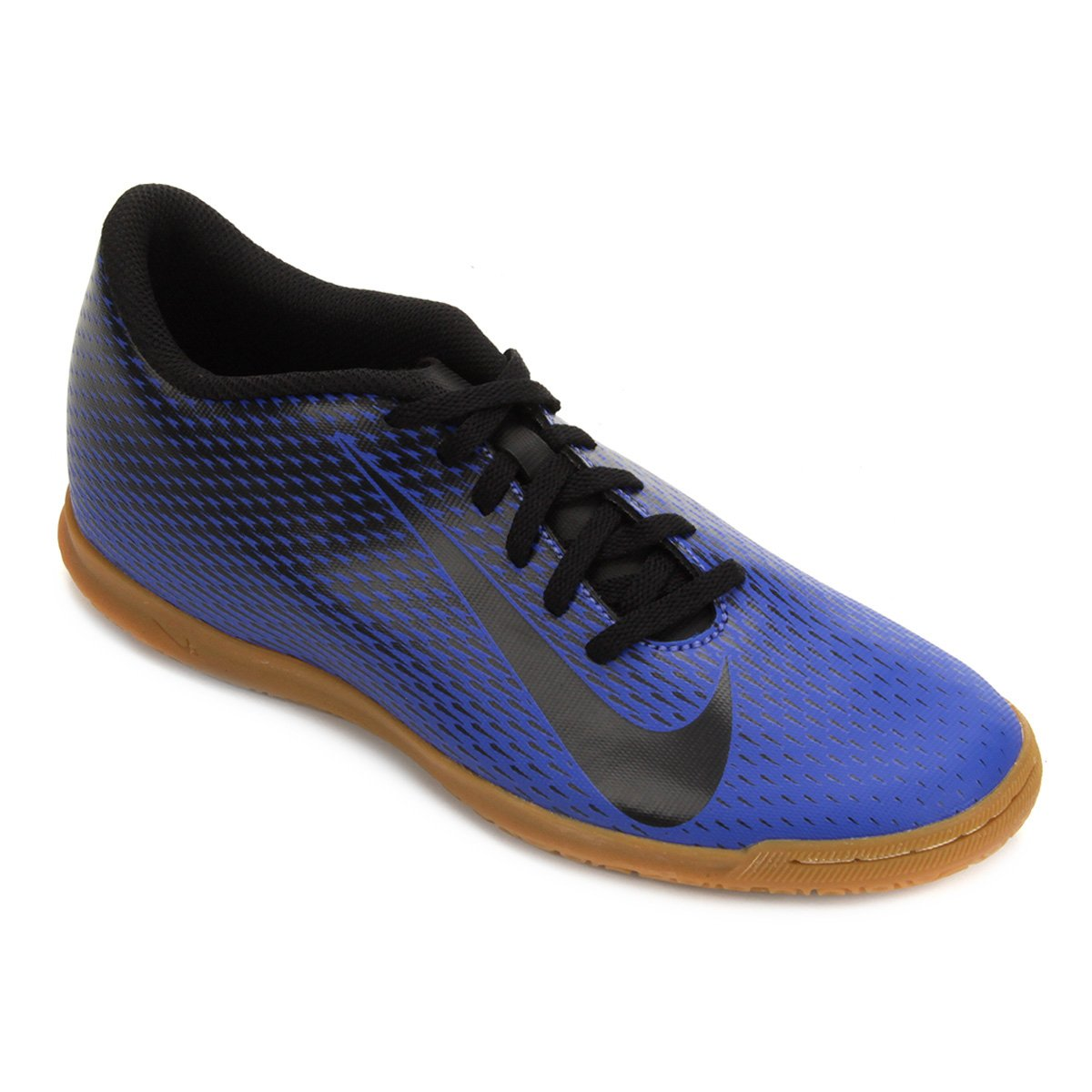 1b159824bf6b5 Chuteira Futsal Nike Bravata 2 IC - Azul e Preto - Compre Agora ...