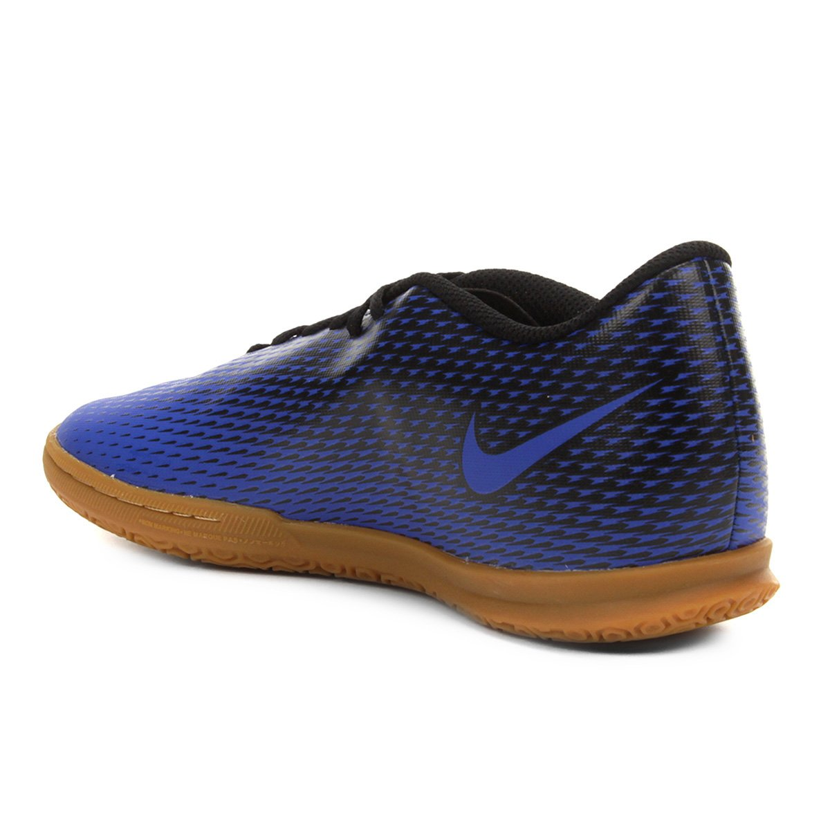 Chuteira Futsal Nike Bravata 2 IC - Azul e Preto - Compre Agora ... 91278e508bbc0