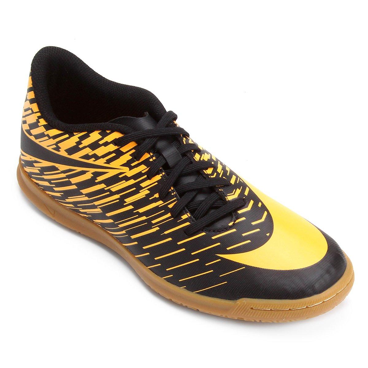 5d5d1d6a793 Chuteira Futsal Nike Bravata 2 IC - Preto e Laranja - Compre Agora ...
