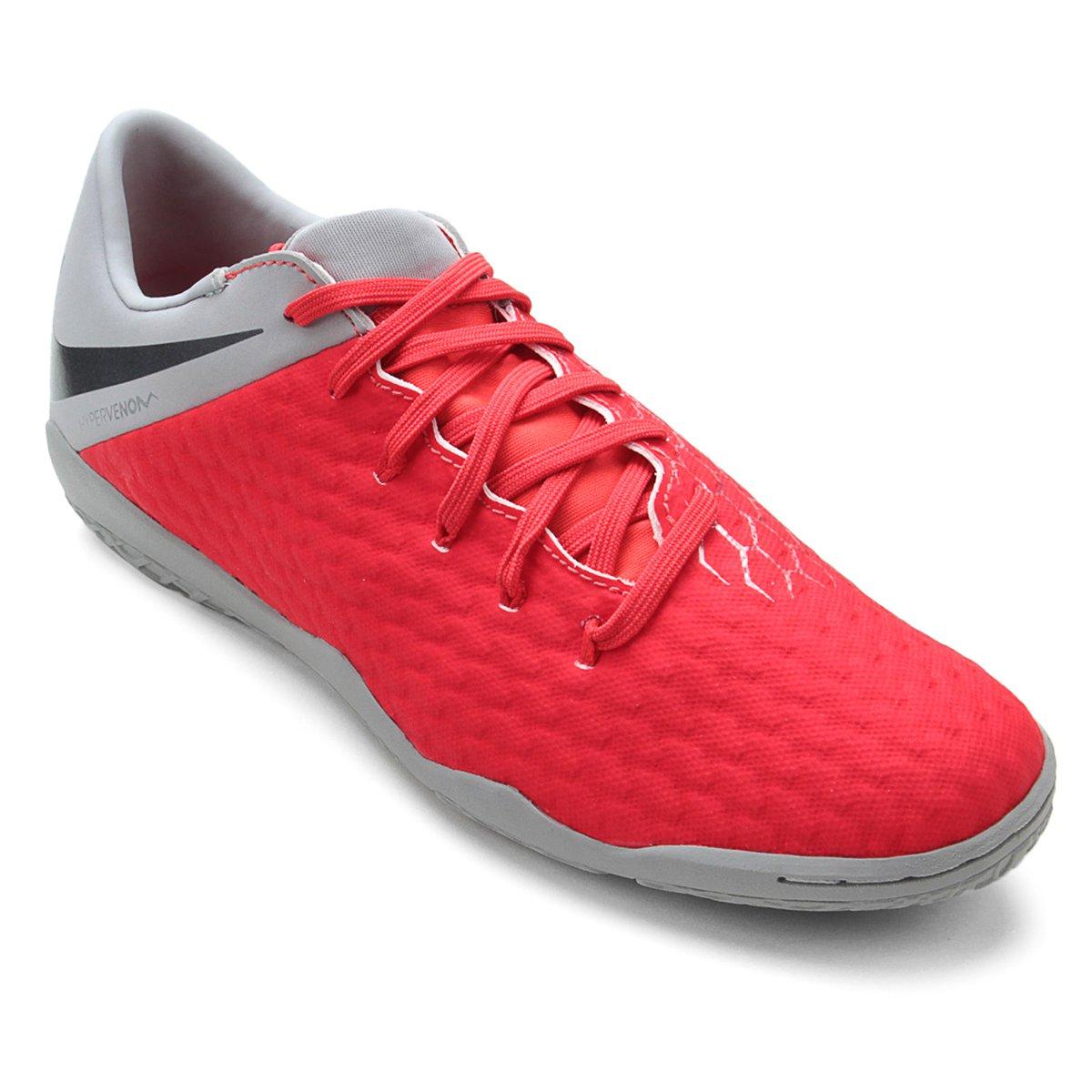 fd1235d08a Chuteira Futsal Nike Hypervenom Phantom 3 Academy IC - Compre Agora ...