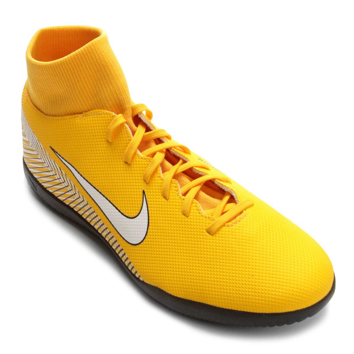 b5b007c963081 Chuteira Futsal Nike Mercurial Superfly 6 Club Neymar IC - Amarelo e Preto  - Compre Agora