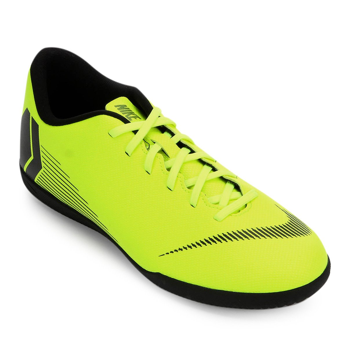 b7055dda45 Chuteira Futsal Nike Mercurial Vapor 12 Club - Amarelo e Preto ...