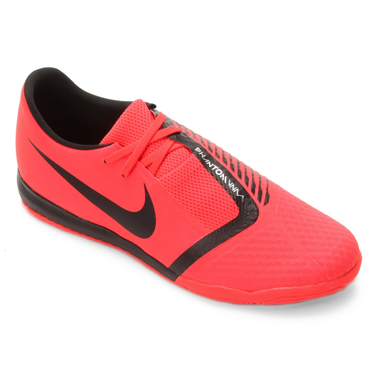 1b41fbffad Chuteira Futsal Nike Phantom Venom Academy IC - Vermelho e Preto ...