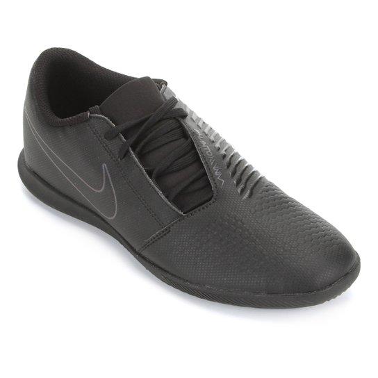 Chuteira Futsal Nike Phantom Venom Club IC - Preto