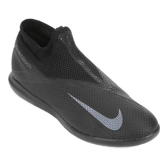 Chuteira Futsal Nike Phantom Vision 2 Academy DF IC - Preto