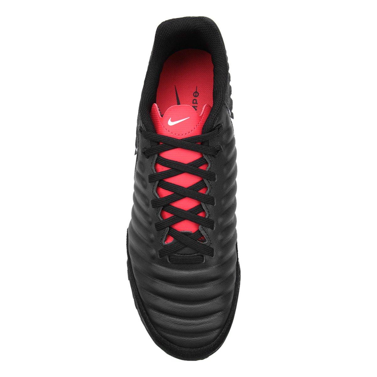 20cda0641f Chuteira Futsal Nike Tiempo Legend 7 Academy IC - Preto e Cinza ...