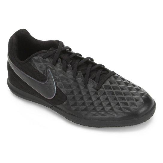 Chuteira Futsal Nike Tiempo Legend 8 Club - Preto