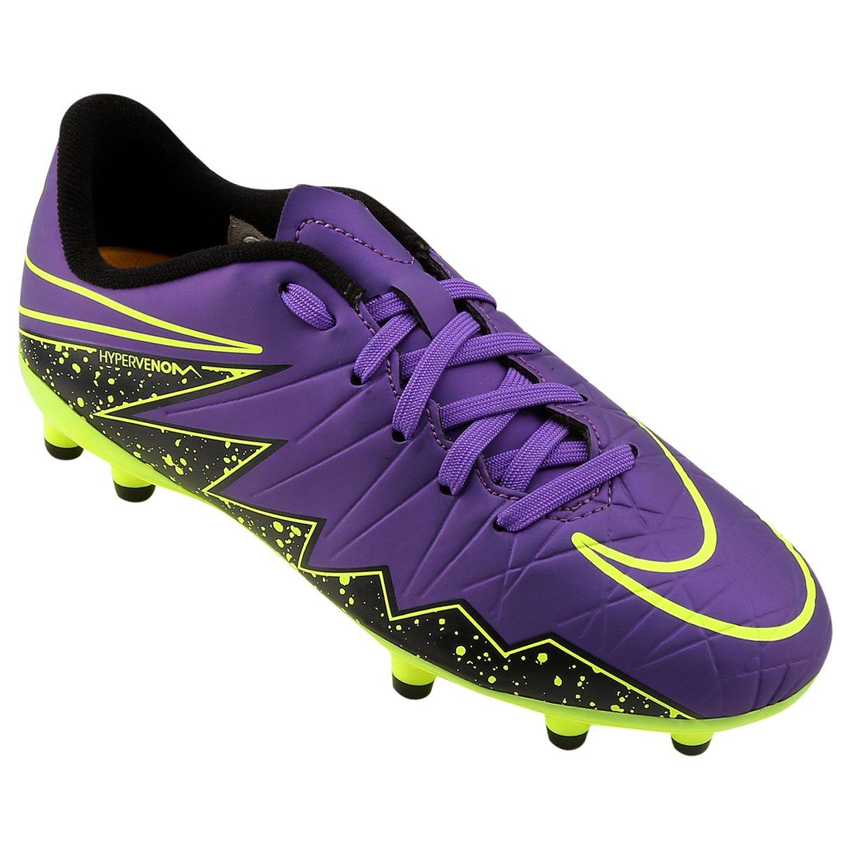 eae04e7705 Chuteira Nike Hypervenom Phelon 2 FG Infantil