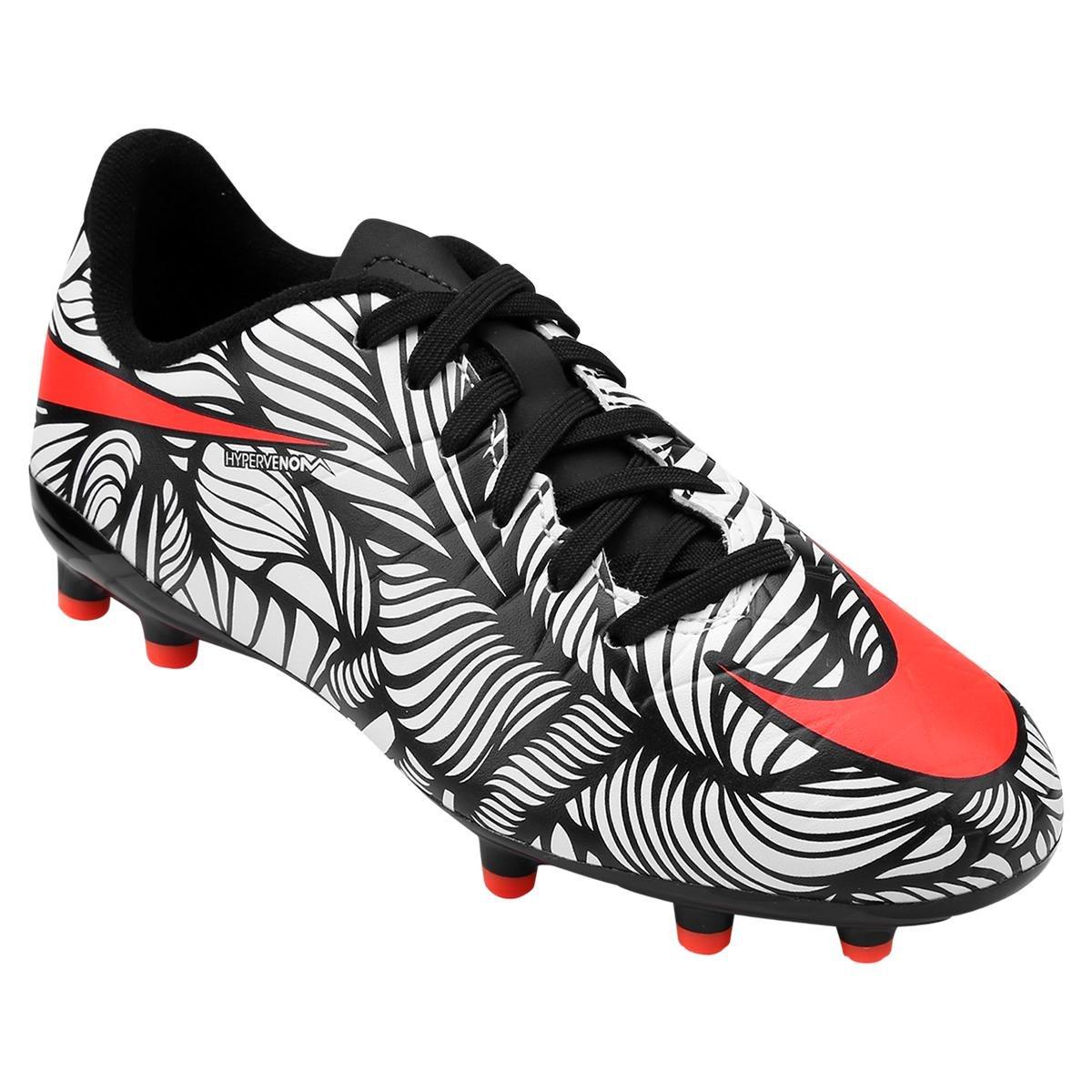 4c5bc8272469c Chuteira Nike Hypervenom Phelon 2 NJR FG Campo Infantil | Shop Timão