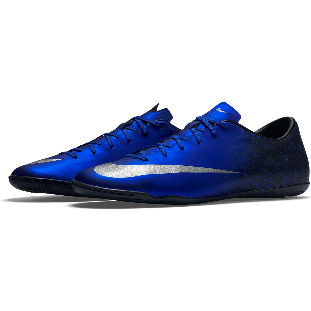 d1618c8cff661 ... uk chuteira nike mercurial victory 5 cr7 ic futsal azul e prata 0309d  86d32 ...