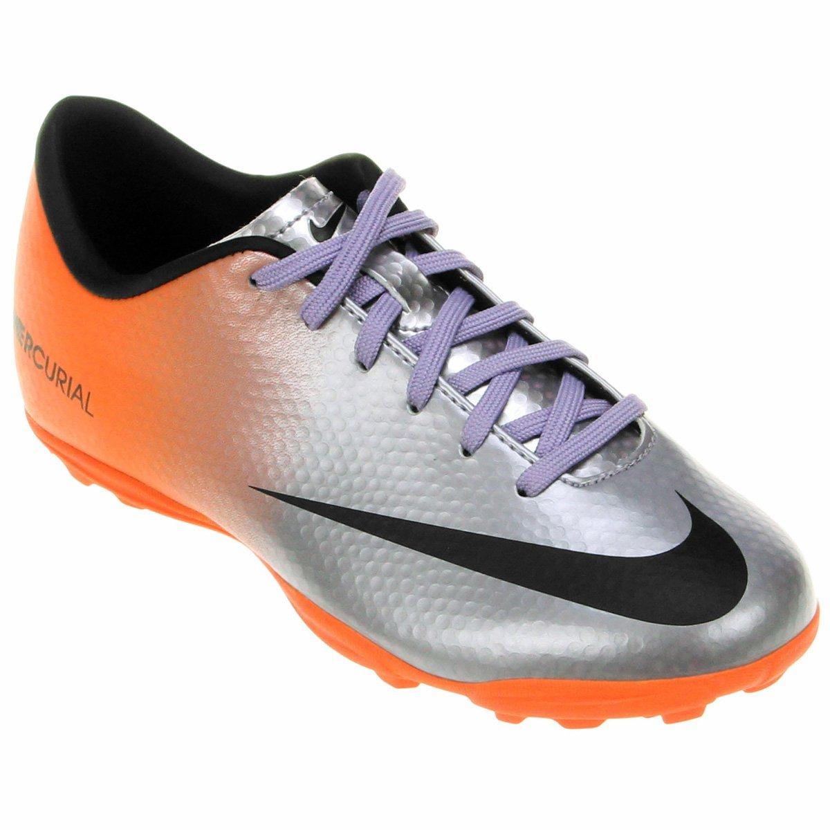 66c81707ab Chuteira Nike Mercurial Victory IV TF Infantil