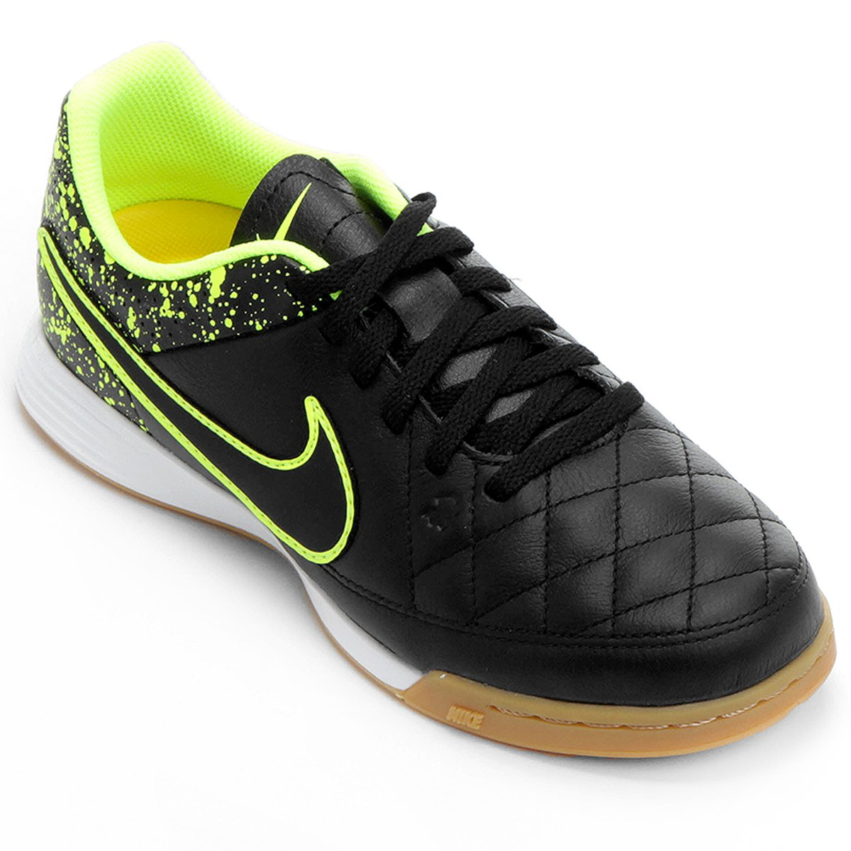 7da2e05f52 Chuteira Nike Tiempo Gênio Leather IC Futsal Infantil - Compre Agora ...
