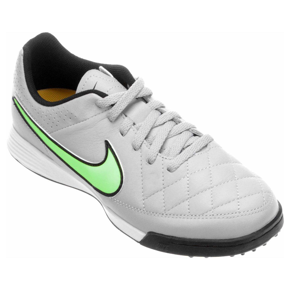 877a83962f Chuteira Nike Tiempo Gênio Leather TF Society Infantil - Compre Agora