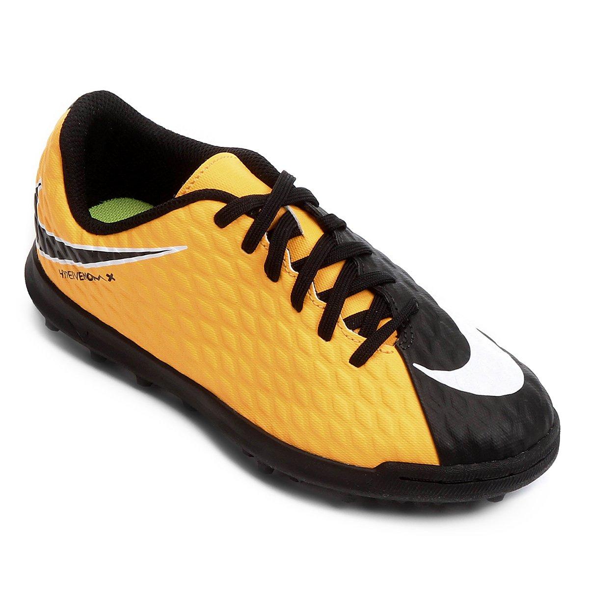 901ef6fbe9768 Chuteira Society Infantil Nike Hypervenom Phade 3 TF - Compre Agora ...