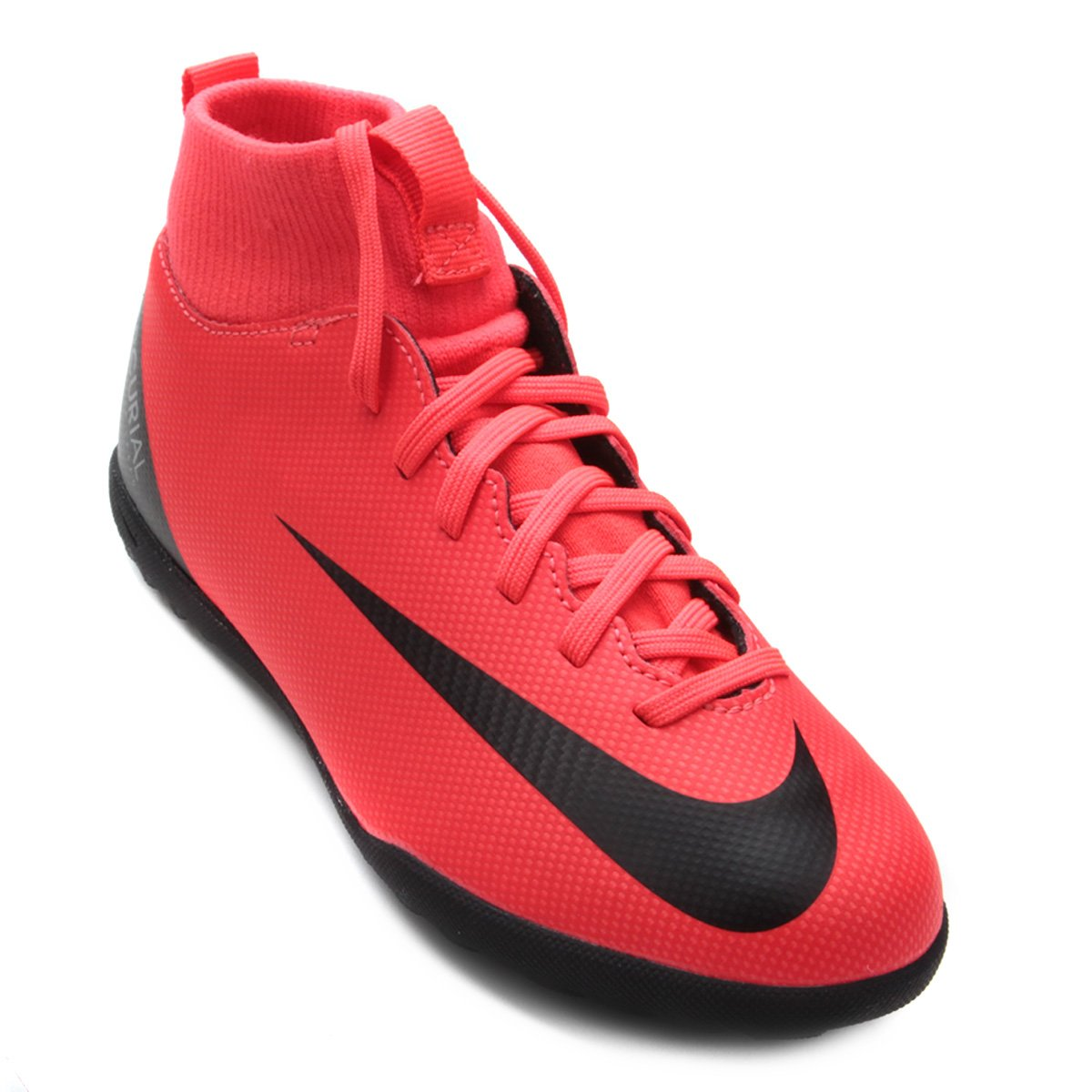e5d8ea4be6 Chuteira Society Infantil Nike Mercurial Superfly 6 Club CR7 TF ...