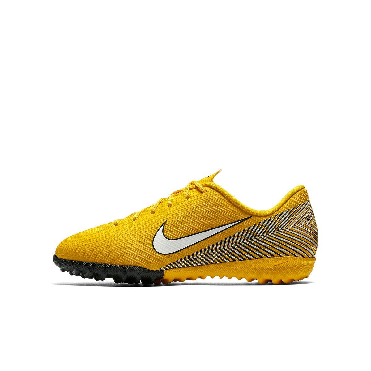 683b78e77c818 Chuteira Society Infantil Nike Mercurial Vapor 12 Academy GS Neymar TF -  Amarelo e Preto | Shop Timão
