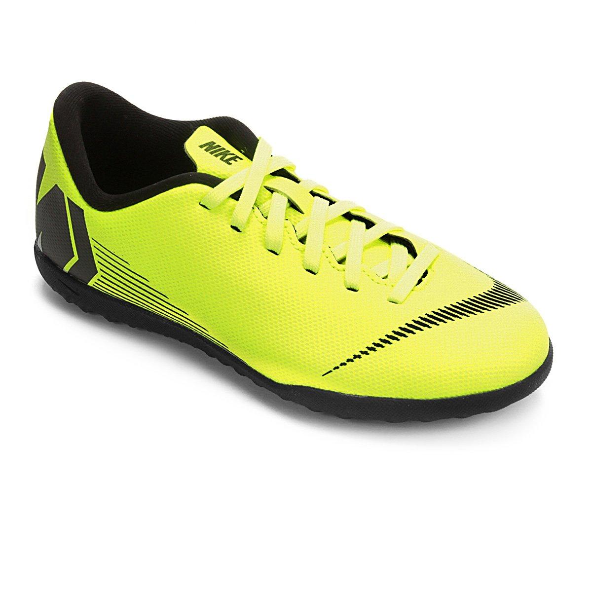 6a2817de59 Chuteira Society Infantil Nike Mercurial VaporX 12 Club GS TF ...