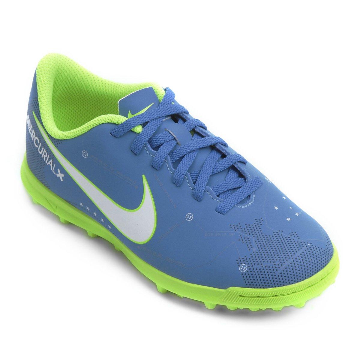 43d9537f0dedc Chuteira Society Infantil Nike Mercurial Vortex 3 Neymar Jr TF - Compre  Agora