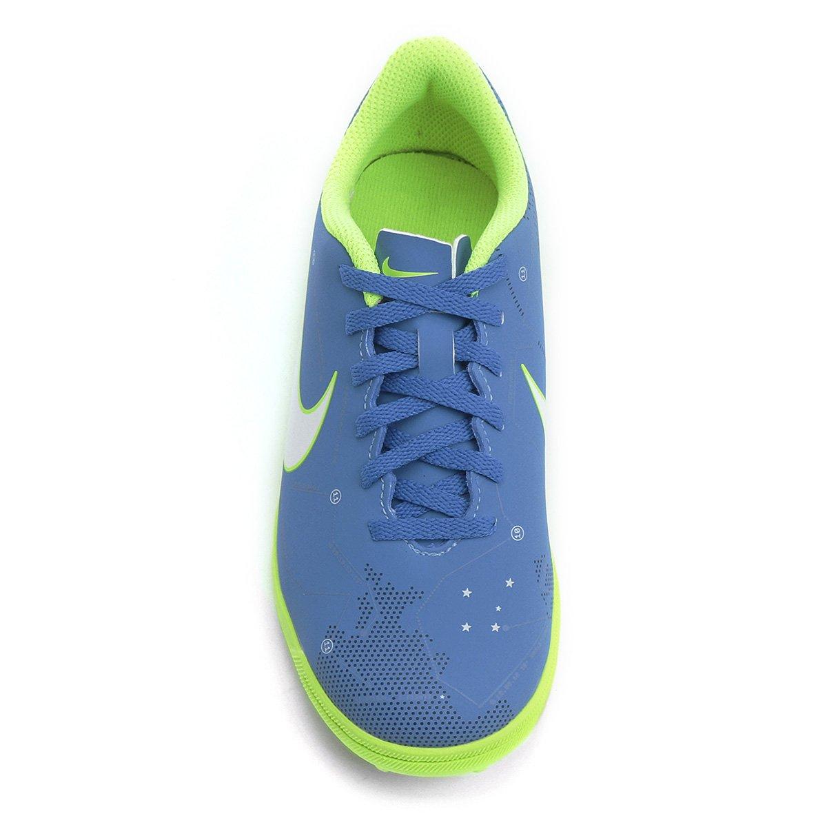 Chuteira Society Infantil Nike Mercurial Vortex 3 Neymar Jr TF ... 318c14b9447e4