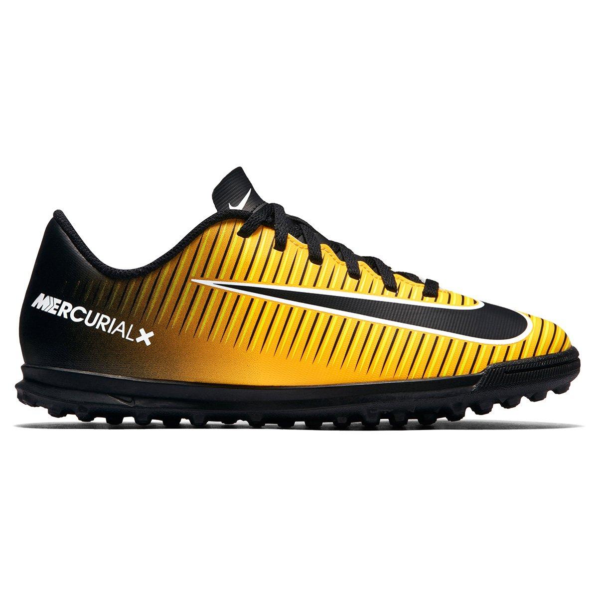 22f3f5ec48e3b Chuteira Society Infantil Nike Mercurial Vortex 3 TF - Compre Agora ...
