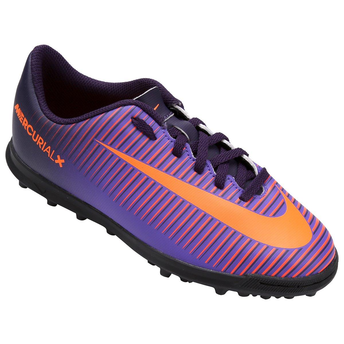 c9c4f6f15013e Chuteira Society Infantil Nike Mercurial Vortex 3 TF | Shop Timão