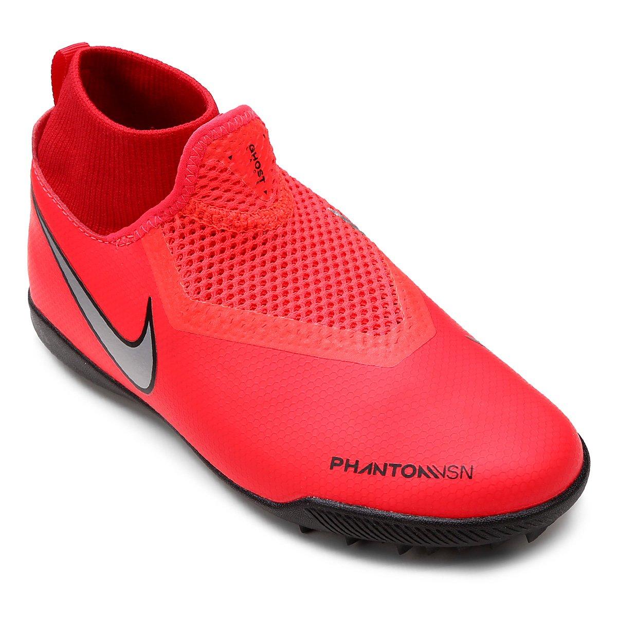 Chuteira Society Infantil Nike Phantom Vision Academy TF - Compre ... e2783e4c91fa0