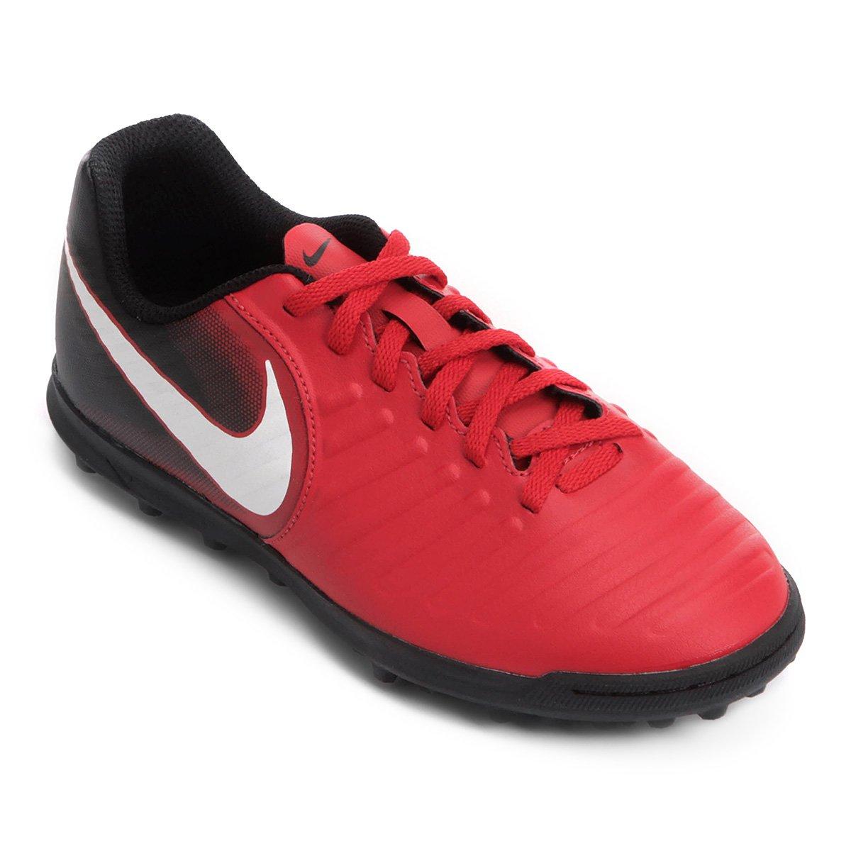 275ca6fcc3b40 Chuteira Society Infantil Nike Tiempo Rio 4 IC TF - Compre Agora ...