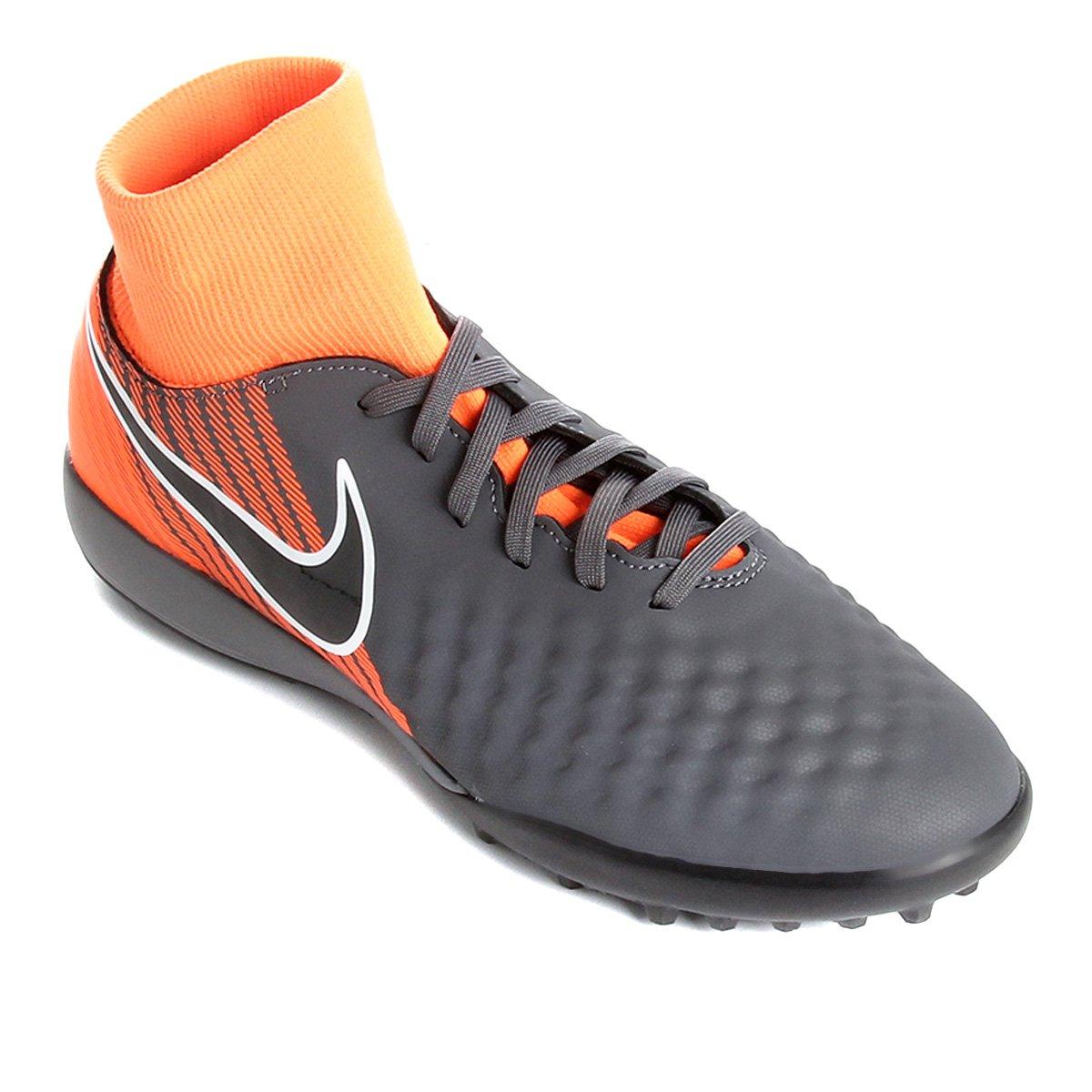 c267e1cf22450 Chuteira Society Nike Magista Obra 2 Academy Dinamic Fit - Cinza e Preto |  Shop Timão