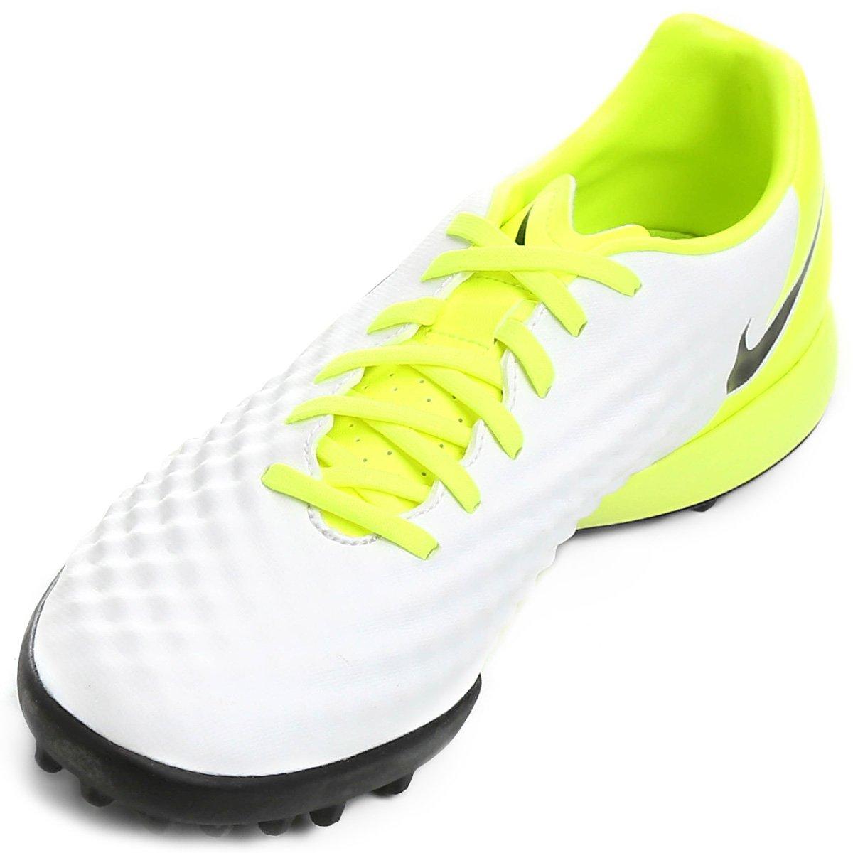 ff28cd5ef1 Chuteira Society Nike Magista Onda II TF - Branco e Preto - Compre ...