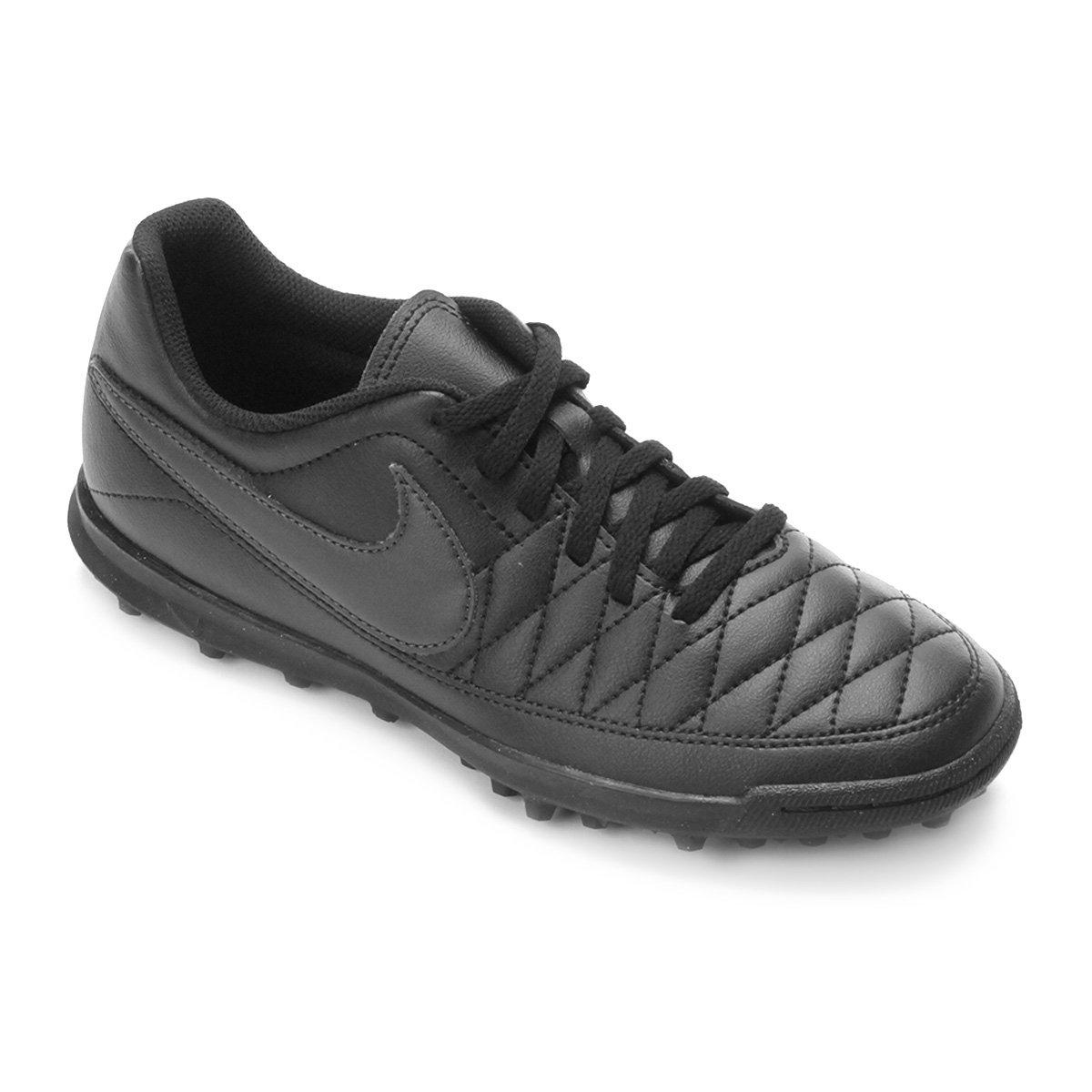 7aa567da2d Chuteira Society Nike Majestry TF - Preto - Compre Agora