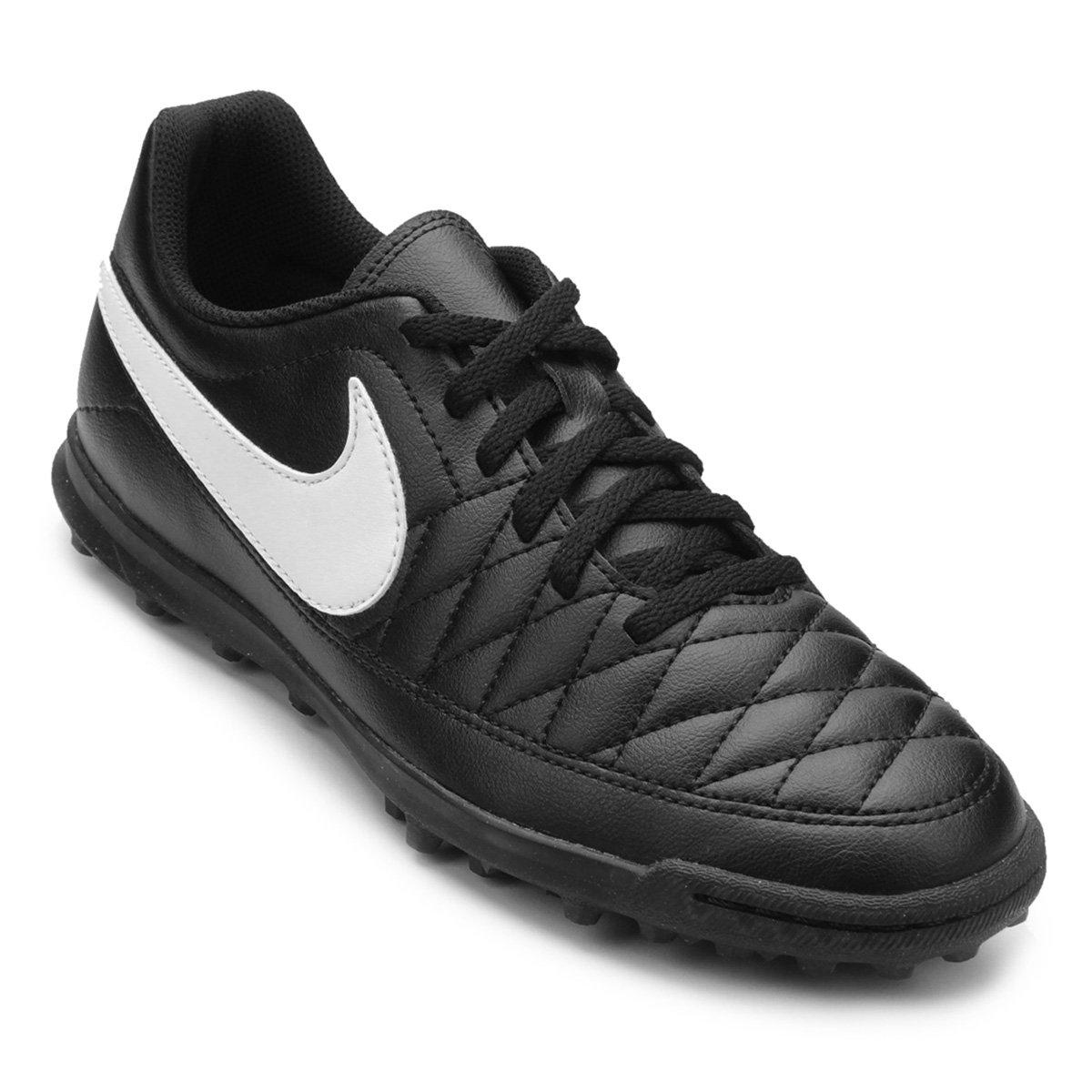 a31d025b736d6 Chuteira Society Nike Majestry TF - Preto e Branco - Compre Agora ...