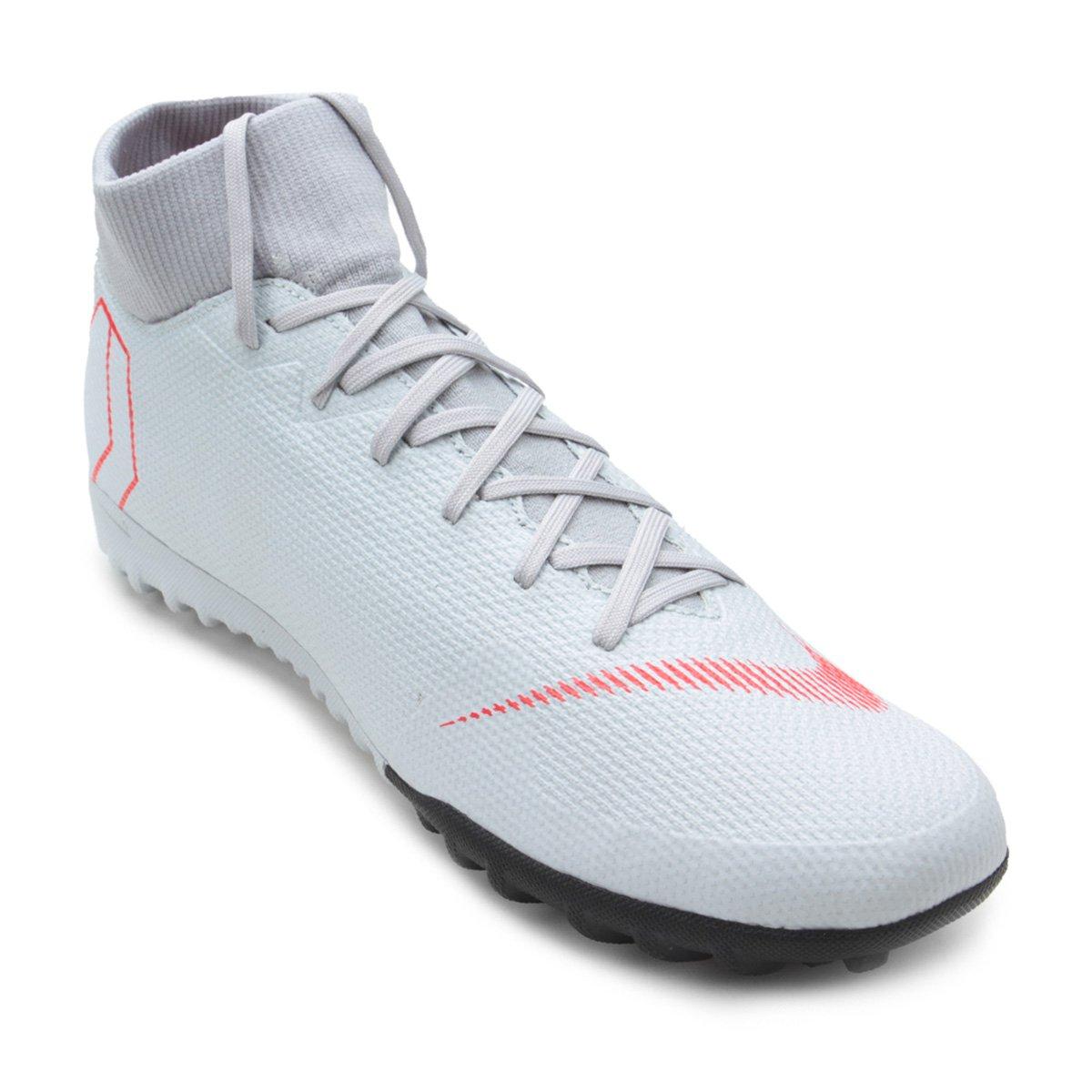 ea9f49bbc6f76 Chuteira Society Nike Mercurial Superfly 6 Academy - Cinza | Shop Timão