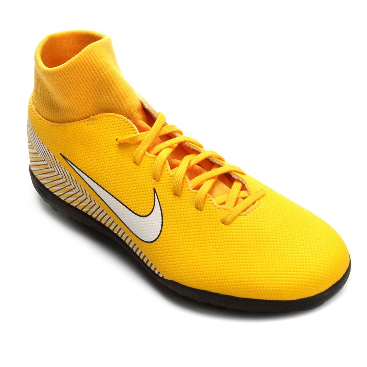 bf8c6ee499 Chuteira Society Nike Mercurial Superfly 6 Club Neymar - Amarelo e Preto