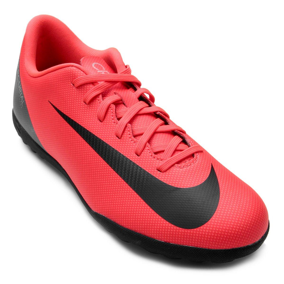 93edc5b4b210f Chuteira Society Nike Mercurial Vapor 12 Club CR7 TF | Shop Timão