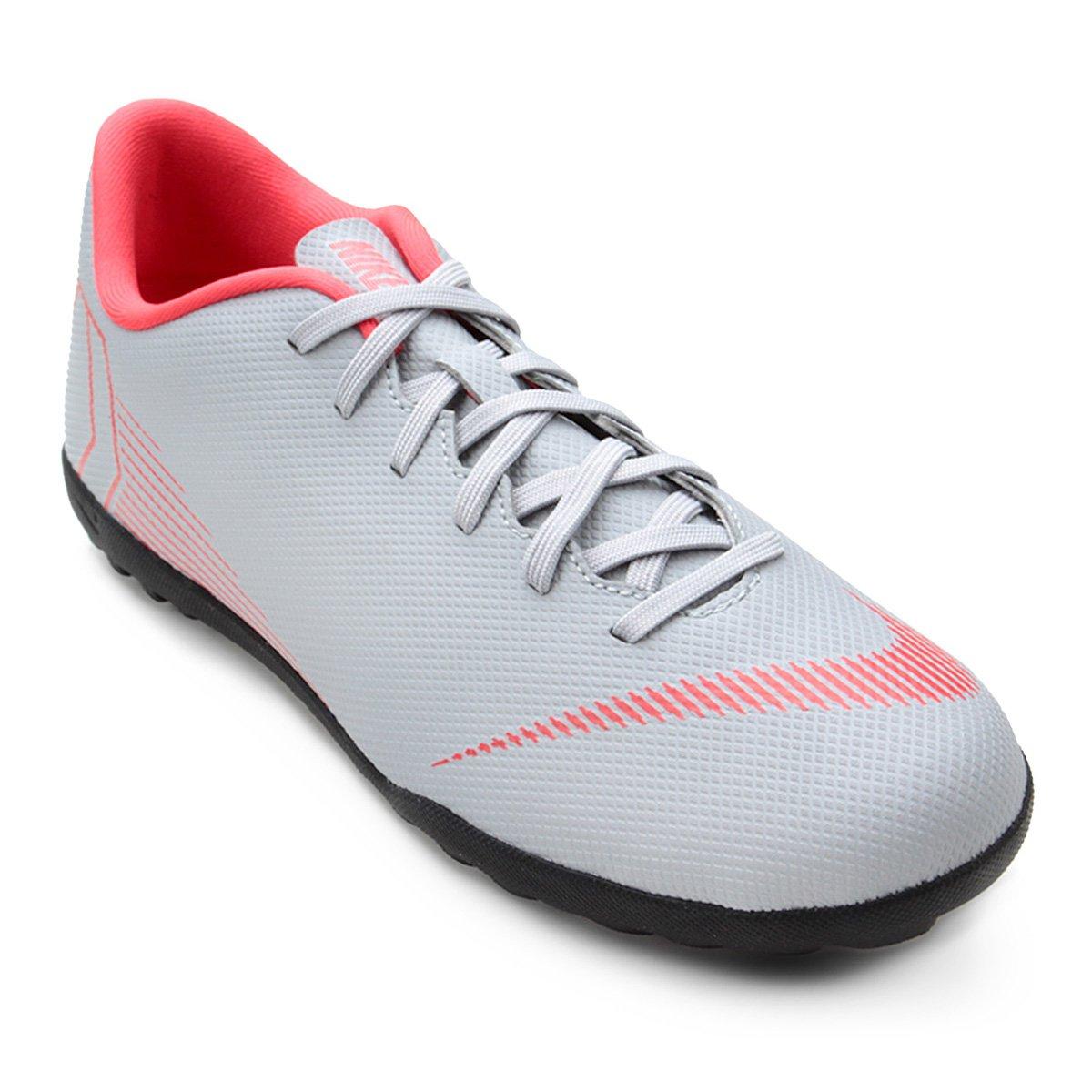 5fc6256da4 Chuteira Society Nike Mercurial Vapor 12 Club - Cinza