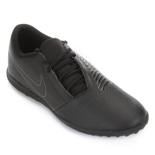 Chuteira Society Nike Phantom Venom Club TF - Preto