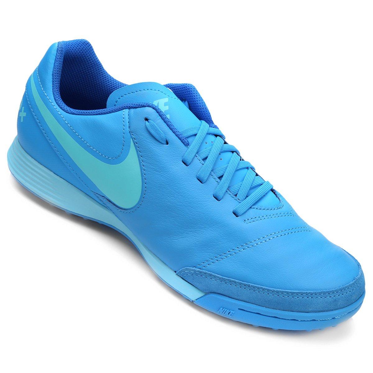 2f622315b9 ... new zealand chuteira society nike tiempo genio 2 leather tf masculina  azul piscina 22e1a 7e804