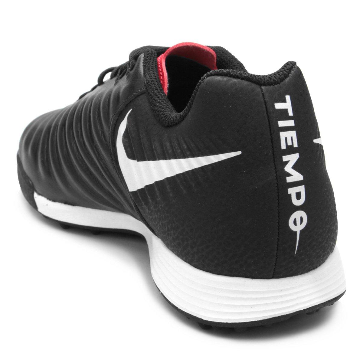 Chuteira Society Nike Tiempo Legend 7 Academy TF - Preto - Compre ... b9242c8d01704