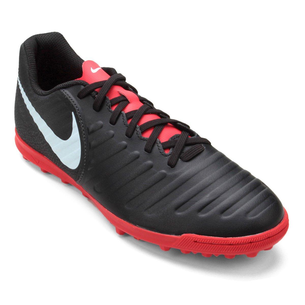 ff01e150c7 Chuteira Society Nike Tiempo Legend 7 Club TF - Preto - Compre Agora ...