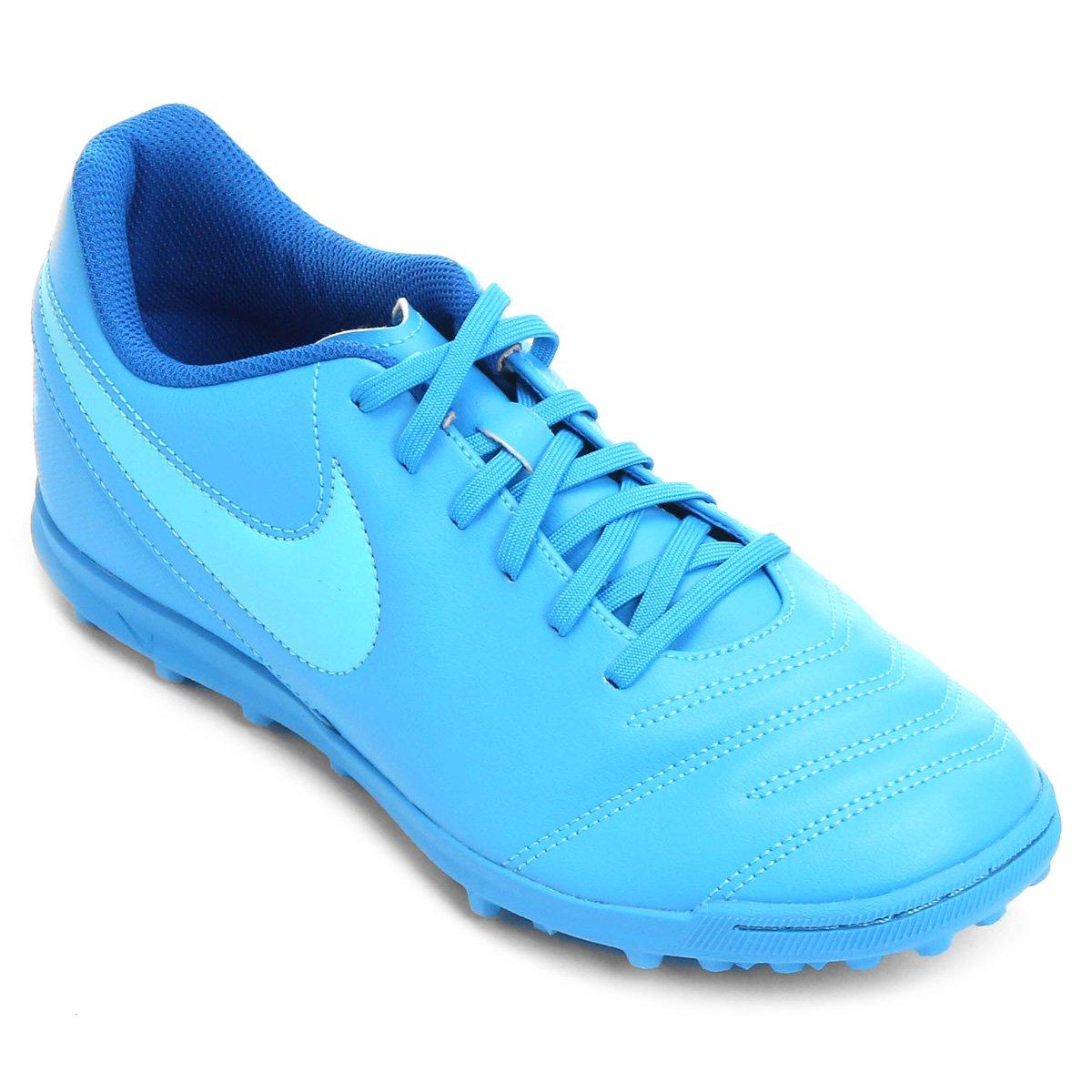d75e74a7fd Chuteira Society Nike Tiempo Rio 3 TF Masculina