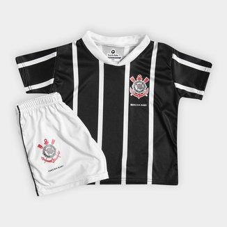 Conjunto Corinthians Infantil Torcida Baby