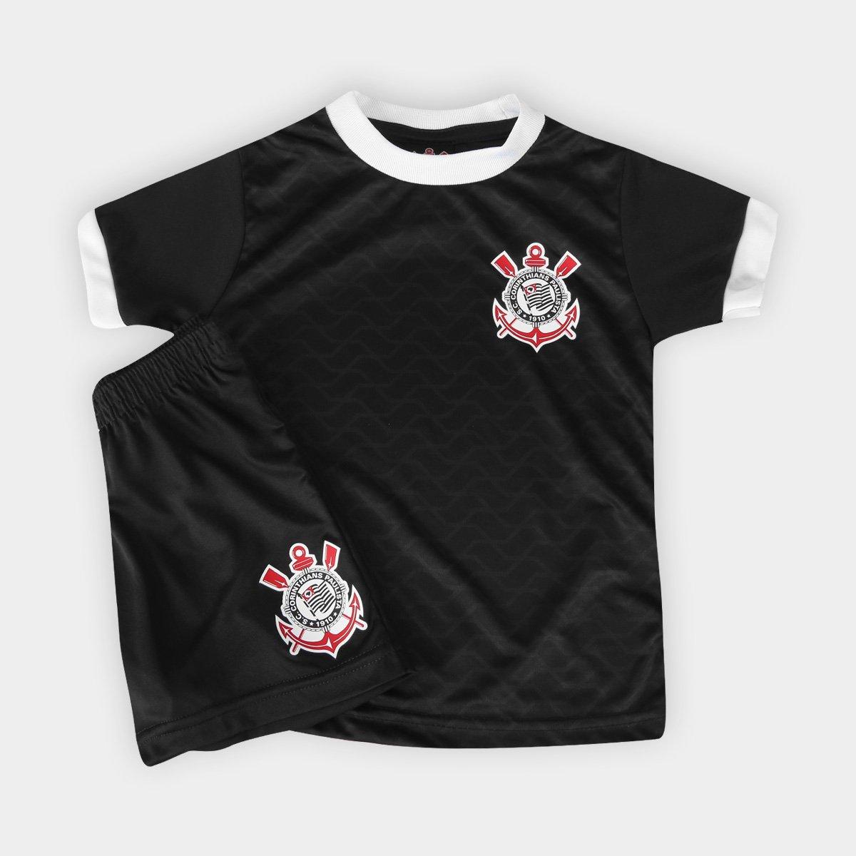 c0c61938e474d Conjunto Corinthians Libertados Infantil - Compre Agora