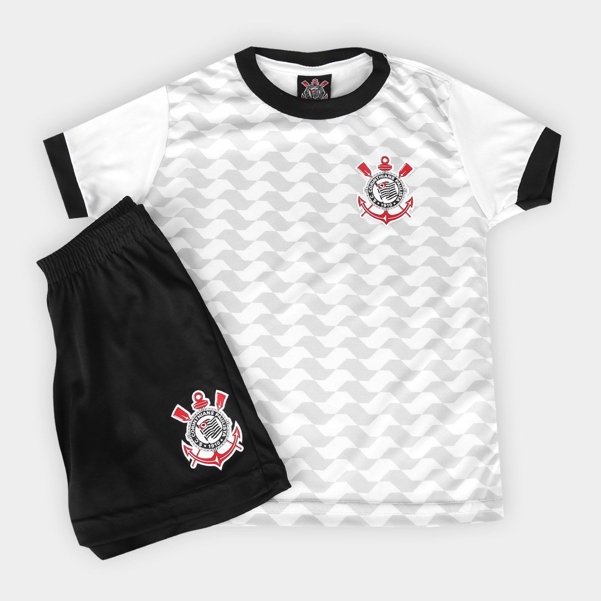 Conjunto Corinthians Libertados Infantil - Compre Agora  f2f885a18a4e8